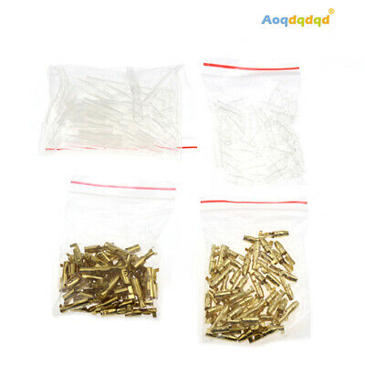 AU11.19 • Buy 200/400PCS 4mm Automotive Electrical Wire Connector Male Female Cable Terminal