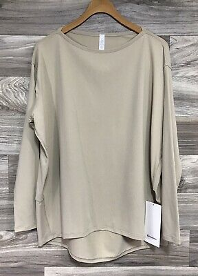 $ CDN85.36 • Buy NWT Lululemon Back In Action Long Sleeve *Rulu - Size 8, Trench