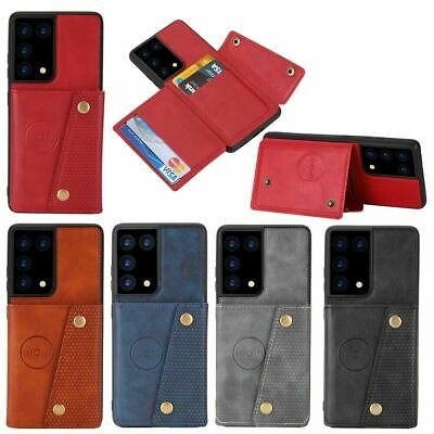AU15.89 • Buy For Oppo A93 Realme 7i X50/3Pro 6 6Pro Find X2 Neo Wallet Case Leather Card Cove