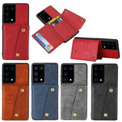 AU15.89 • Buy For Oppo F11 Realme X XT 3/3Pro 6 6Pro Find X2 Neo Wallet Case Leather Card Cove