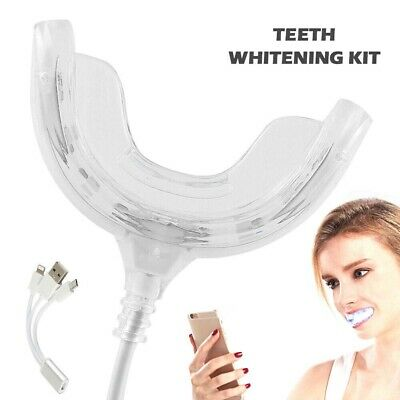 AU11.65 • Buy Professional Home Teeth Whitening Set Snow White Tooth Dental LED Light Gel
