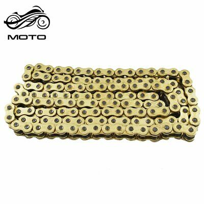 AU43.93 • Buy Gold 530x130 O-Ring Drive Chain Motorcycle 530 Pitch 130 Links