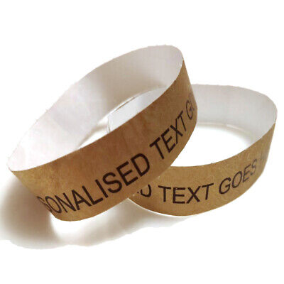 £3 • Buy 20 Gold Printed Wristband Home Stay All Inclusive VIP Entry Party Fest Ticket
