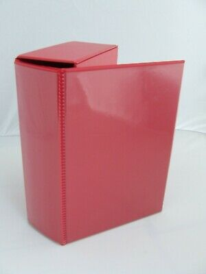 £16.95 • Buy 1 X Volstor Comic Storage Boxfile Customisable In Red NEW!