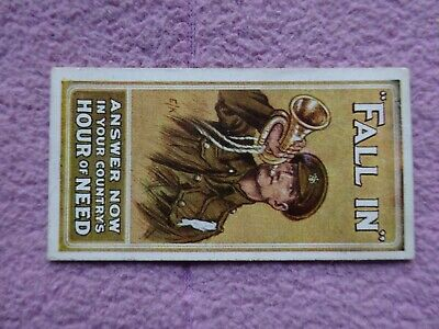 £2.29 • Buy WILLS - RECRUITING POSTERS C1915 - # FALL IN