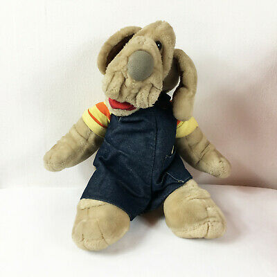 £17.23 • Buy A124 Vintage Ganz Wrinkles Puppy Dog Puppet Plush 15  Stuffed Toy Lovey