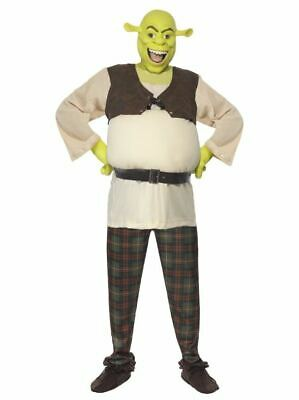 £48 • Buy Official Adult Shrek Costume - Medium & Large - Mens Stag Fancy Dress Outfit
