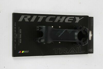 $60.97 • Buy Ritchey WCS C220 Trail Stem 100mm Length 31.8mm Clamp Diameter 0 Degree Black