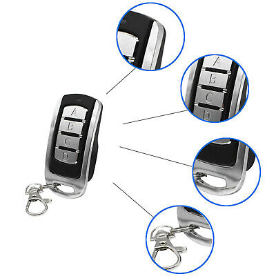 AU19.46 • Buy Gate And Garage Door Remote Control 300MHz 360MHz 410MHz For Anti-Theft LED
