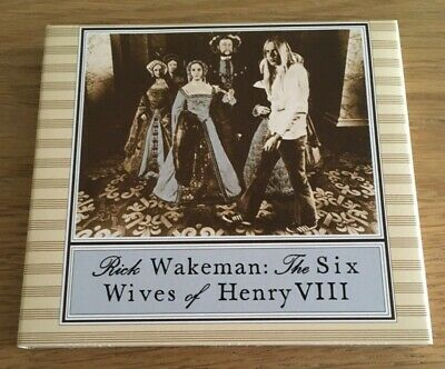 Rick Wakeman - The Six Wives Of Henry VIII - Deluxe CD / DVD Set • 31.50£