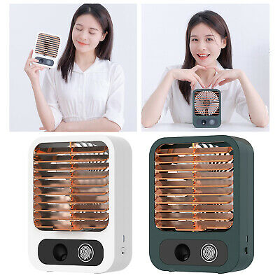 AU21.66 • Buy Air Conditioner Unit Cooling Fan Desk Space Humidifier Adjustable Angle