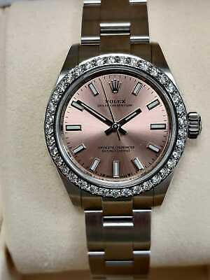 $ CDN11574.09 • Buy Rolex Oyster Perpetual 28mm Dial 2020 Pink/Salmon 276200 Box And Papers (96)