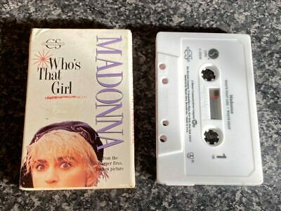 £9.95 • Buy Madonna Who's That Girl Cassette Audio Single Tape Vgc For Age