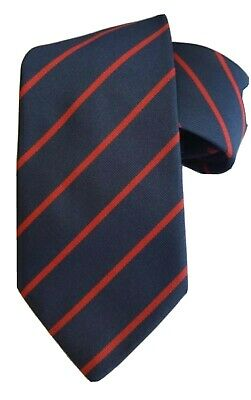 £13.99 • Buy Royal Army Ordnance Corps (RAOC) Woven Striped Tie Made In GB
