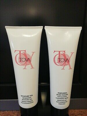 £10 • Buy TOVA SIGNATURE MOISTURE VEIL & BODY POLISH SET. 2x125ml. NEW. RARE
