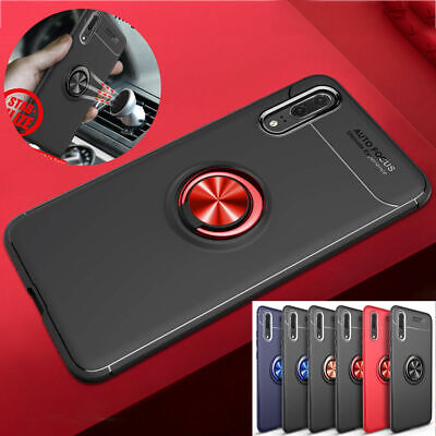 AU14.89 • Buy For Oppo R11S Plus Reno Z A A9 2020 A11X R9S R17 Rubber Finger Stand Case Cover