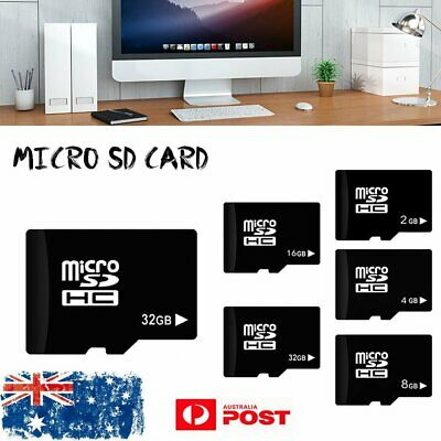 AU17.23 • Buy Micro SD TF Memory Card Flash 2G 4G 8G 16GB 32GB Class 4 C4 For Smart Phone NEW
