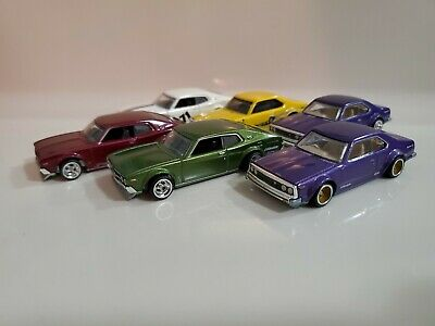 $ CDN49.99 • Buy Hot Wheels Skyline C210 Loose With Real Riders Lot Of 6 Car Culture