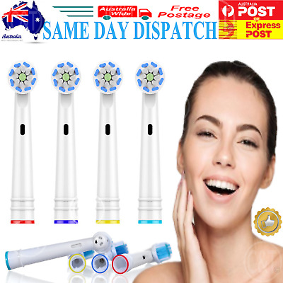 AU14.90 • Buy 8-20x Replacement Electric Toothbrush Heads Compatible Oral B Tooth Brush Head