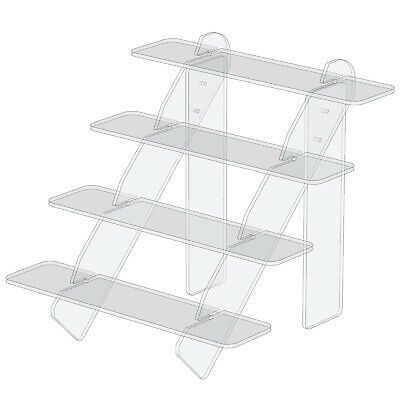 £16.89 • Buy Large Counter, Market, POS, Shelf, Fair Display Stand For Retail Shop Storeroom