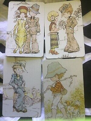 AU10 • Buy Four Cute Kids Sarah Kay Swap Cards As New Condition