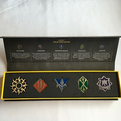 $ CDN238.54 • Buy Gwent The Witcher 3 Deck Cards Game Collectible Pin Set Gamescom 2017  NEW  RARE