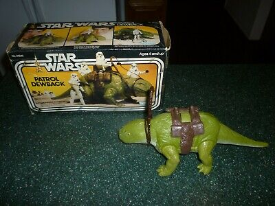$ CDN190.94 • Buy Vintage Star Wars Patrol Dewback In The Original Box!