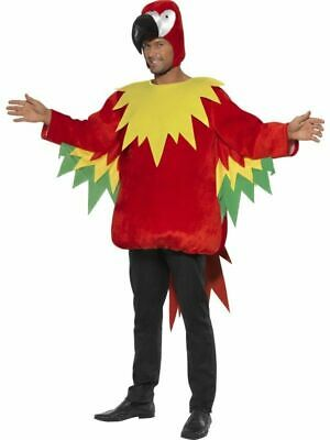 £25 • Buy Adult Mens Medium Parrot Macaw Bird Costume - Smiffys Novelty Fancy Dress Outfit
