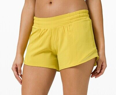 $ CDN62.74 • Buy NWT LULULEMON Hotty Hot LR Shorts Soleil Size 12