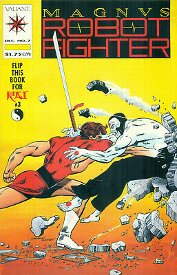 $7.99 • Buy Magnus Robot Fighter #7 By Shooter 1st App X-O Armor Rai W/Coupon Valiant 1991