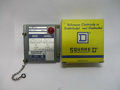 AU34.07 • Buy Square D 9012 GAW-6 Series C Pressure Switch Cover Only W/ Pilot 9012GAW-6