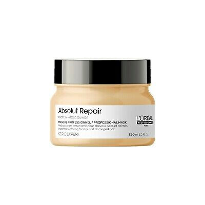 £16.99 • Buy  L'Oreal Serie Expert Absolut Repair 250ml Mask With Gold Quinoa + Protein