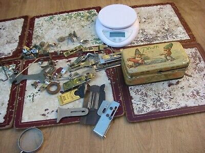 Antique Vintage Attachments For Pfaff Sewing Machine Inside Advertising Sign Tin • 50£
