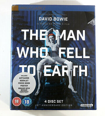 The Man Who Fell To Earth 40th Anniversary Limited Edition Blu Ray Sealed • 22.99£