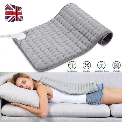 £18.98 • Buy 6 Levels Electric Heating Pads For Back Neck Heating Pad Fast Pain Relief Tabby
