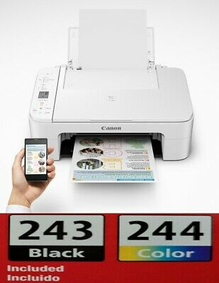 View Details Canon Pixma TS3322 All In One Printer Copy Scan WiFi 🔥🔥WITH INK🔥🔥 Wireless🔥 • 84.49$