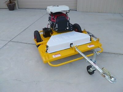 """AU7190 • Buy Tow Behind Slasher ATV Quad Bike Mower Tractor TOW AND MOW 46"""" Cutting Deck"""