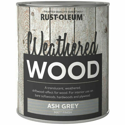£13.99 • Buy Rust-Oleum Weathered Wood Effect Paint Tinted Wood Wash 750ml - Various Colours