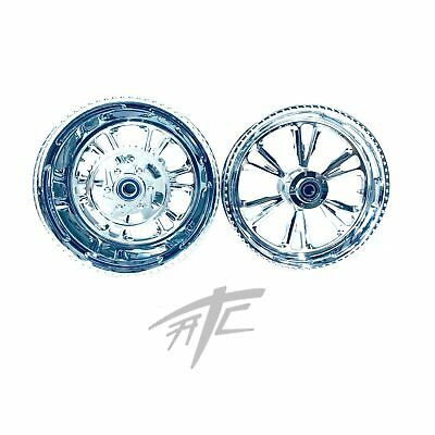 $2799.99 • Buy Gsxr 300 Fat Tire Chrome Vandetta Wheels 01-08 Suzuki Gsxr 1000