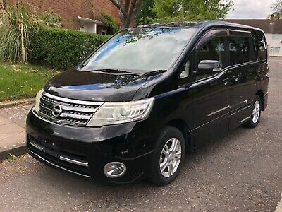 2010 Nissan Serena Lpg Gas Converted 2.0 Automatic Highway Star 8 Seater Tv Dvd • 6,495£