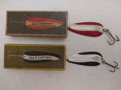 $ CDN20.09 • Buy Vintage Lou Eppinger Dardevle Lures In Picture Boxes