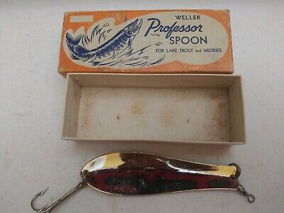 $ CDN12.55 • Buy Vintage Weller Professor Spoon In Box With Colorful Graphics