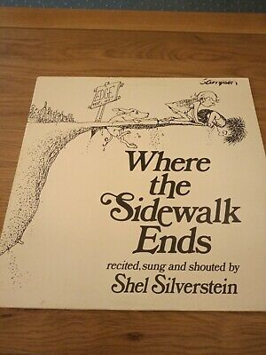 Shel Silverstein – Where The Sidewalk Ends Vinyl LP 1984 • 9.99£