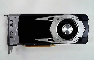 AU307.81 • Buy *FOR PARTS* NVIDIA GTX 1060 6GB FOUNDERS EDITION Graphics Card / NO VIDEO OUTPUT