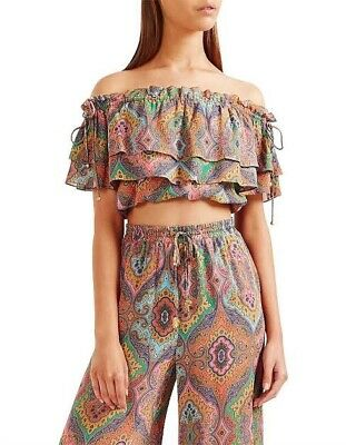 AU50 • Buy Tigerlily Delon Frill Top & Pants Set Multicolored Floral Size 8/10 As New!
