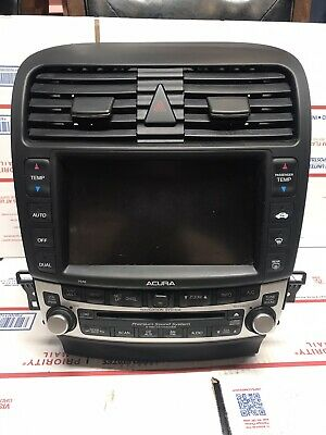 $299.98 • Buy 04-08 Acura TSX OE Navigation System GPS Radio 6CD Player 39175-SEC-A820-M1 A589