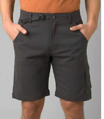 $42 • Buy Prana Stretch Zion Shorts NWT Charcoal And Mud Color Best Discount