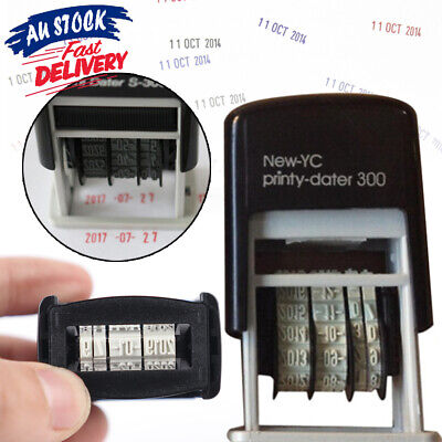 AU10.99 • Buy Mini Supplies S3 Self-Inking Business Office Date Stamp Stationery Rubber