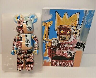 $94.74 • Buy Bearbrick Jean-Michel Basquiat 400% - Medicom Be@rbrick Figure - Boxed