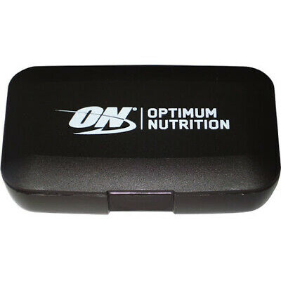 £4.99 • Buy Optimum Nutrition Black Pill Box With 5 Compartments